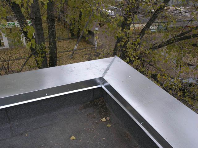 Парапет крыши — что это такое
