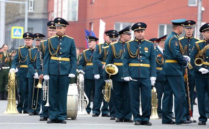 Репетиция 5 мая Парада Победы-2019 в Новосибирске – фоторепортаж