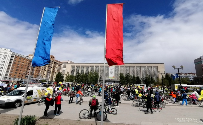 «Вкусно, но мало»: новосибирцы недовольны маршрутом велопробега