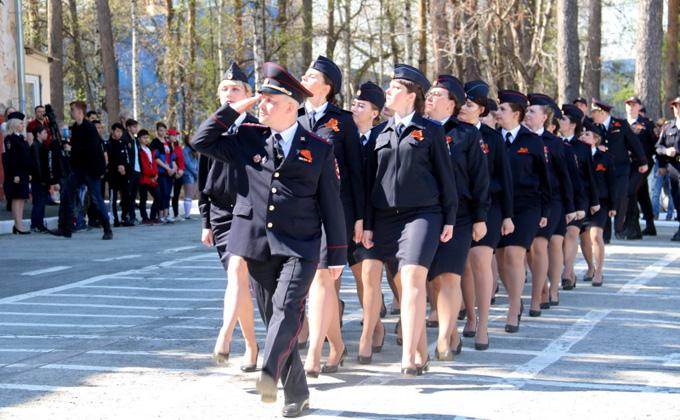 120 молодых полицейских заступили на службу в Новосибирске