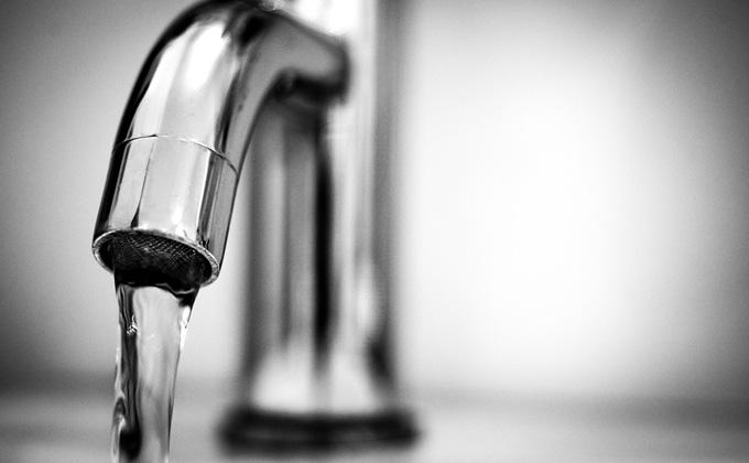 Чистую воду дождались школьники Марусино