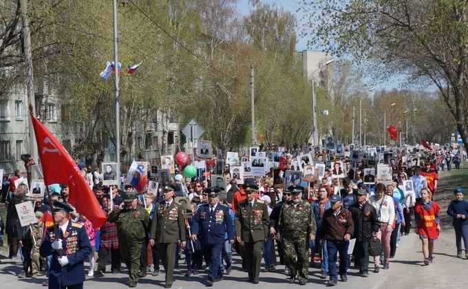 Более 10 тысяч бердчан встали в Бессмертный полк-2019 в Бердске