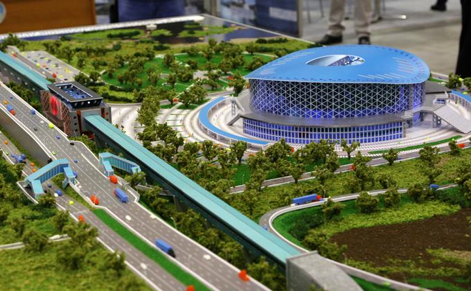 Грандиозные проекты в миниатюре представили на TransSiberia 2019