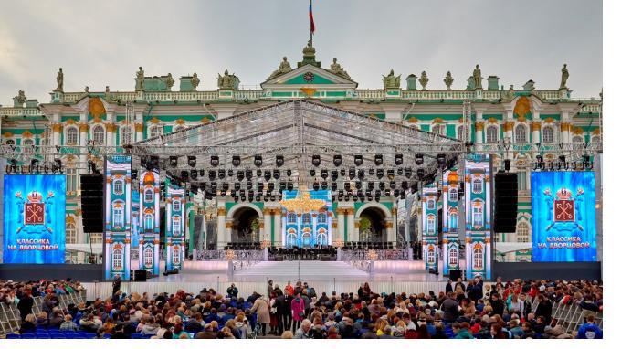 В День города на Дворцовой выступят Анна Нетребко и театр Аллы Духовой TODES