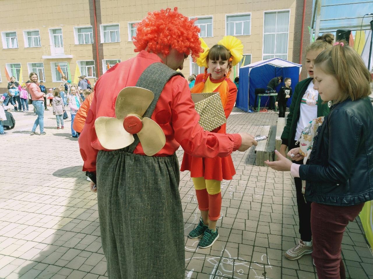 Как развлекали детей на 1 июня в Болотном