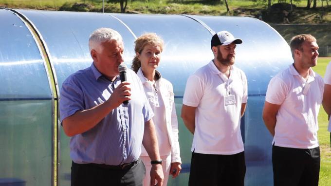 Видео: в Выборге прошла спартакиада летних площадок