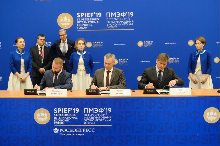 В Новосибирской области появится предприятие по изготовлению секционных ворот и перегрузочного оборудования