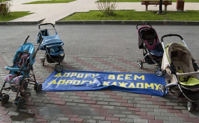 Первый за 20 лет митинг в Кольцово спровоцировало отсутствие дороги