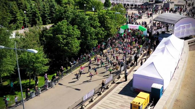 «Зеленый марафон» в Петербурге собрал 10 тысяч человек